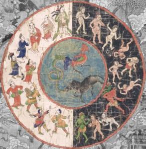 la ruota del karma himalaiana (forse)