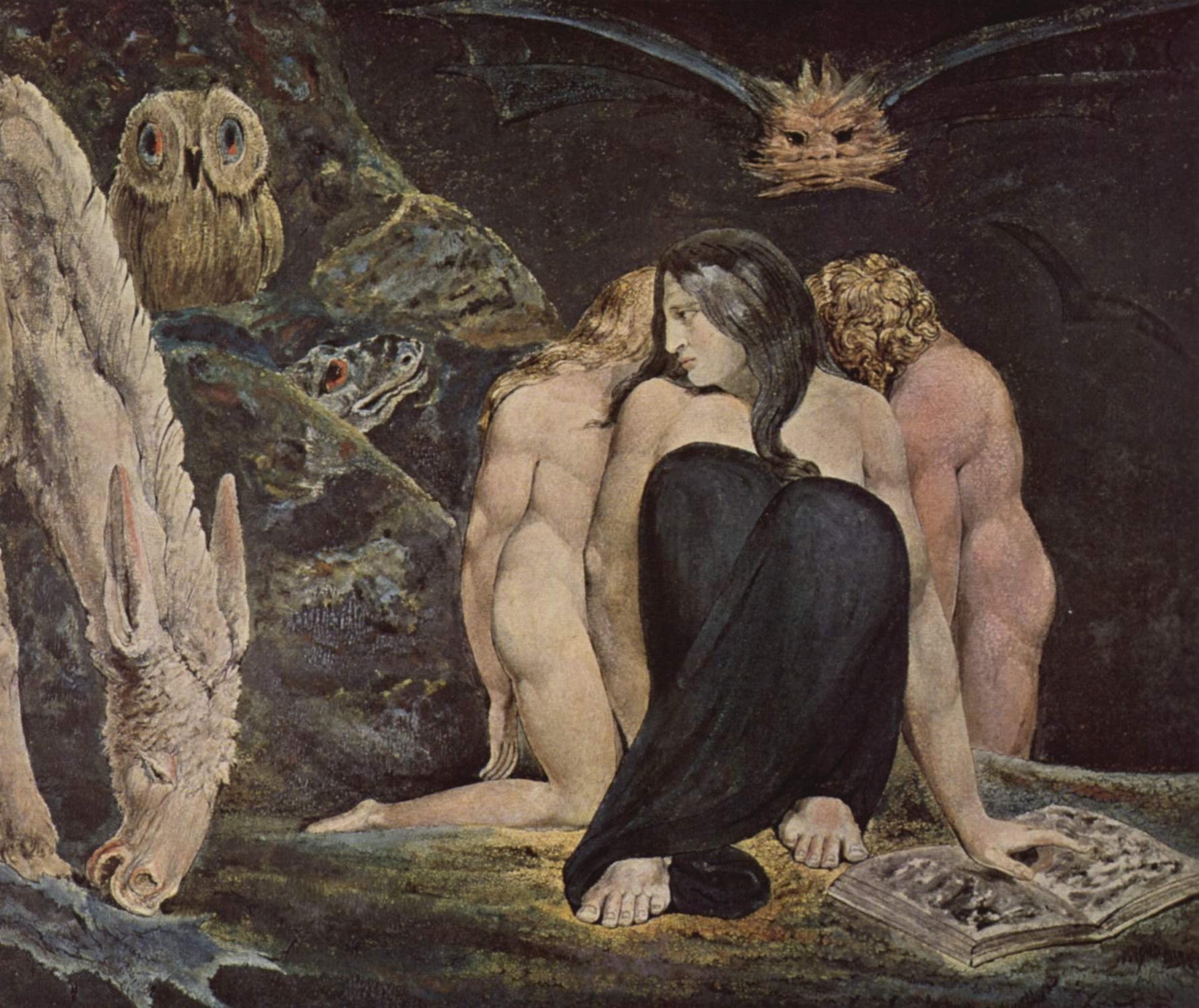 W.Blake: Ecate