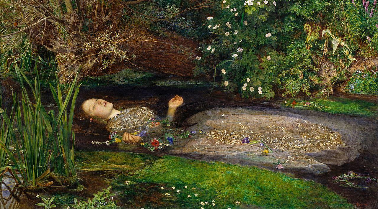 J.E.Millais: Ophelia