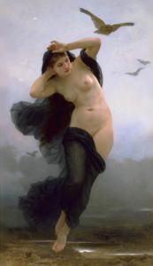 Nyx - W.A.Bouguereau