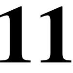 il numero 11