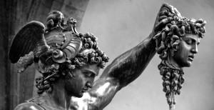 Perseo con la testa di Medusa-B.Cellini