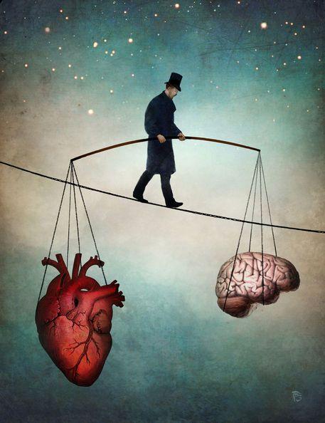 The balance - Christian Schloe