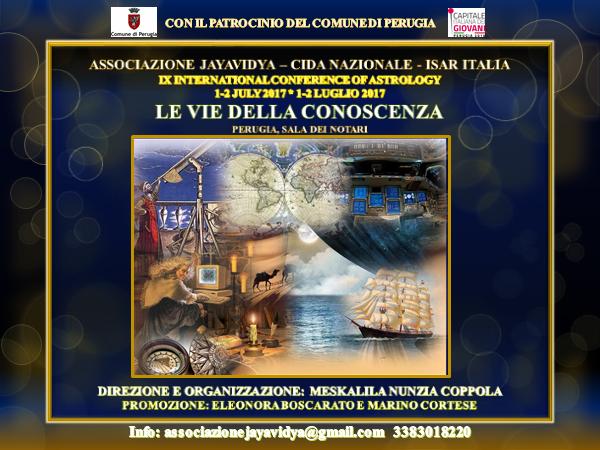 convegno internazionale di astrologia a perugia 2017