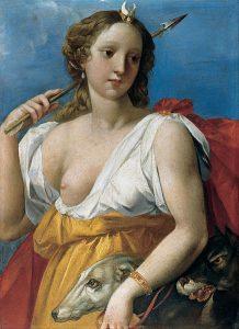 Diana Cacciatrice-Cavalier d'Arpino