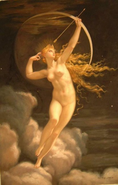 Jules Louis Machard Selene